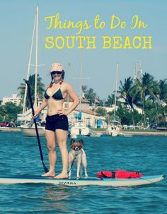 Things to do in South Beach Advice from a local! www.wanderingredhead.com
