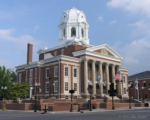Muhlenberg County Courthouse Greenville Ky My Old