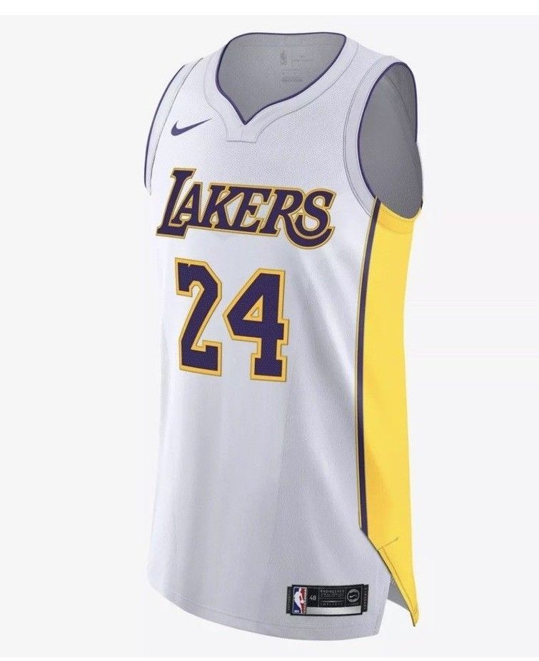 48df942fb24d2 Nike NBA Los Angeles Lakers Kobe Bryant Icon Edition Jersey Size 52 AQ2106  100 #Nike #LosAngelesLakers