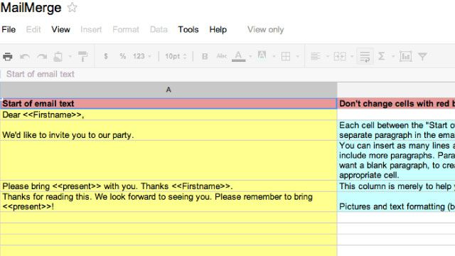 Get Mail Merge in Gmail with This Google Docs Template Google docs - google spreadsheet templates free