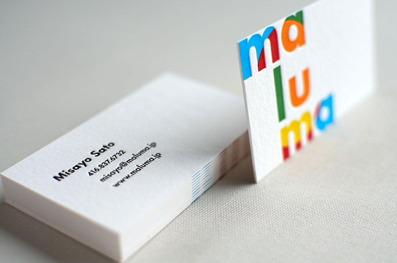 Colourful letterpress business card 2 business cards pinterest colourful letterpress business card 2 colourmoves