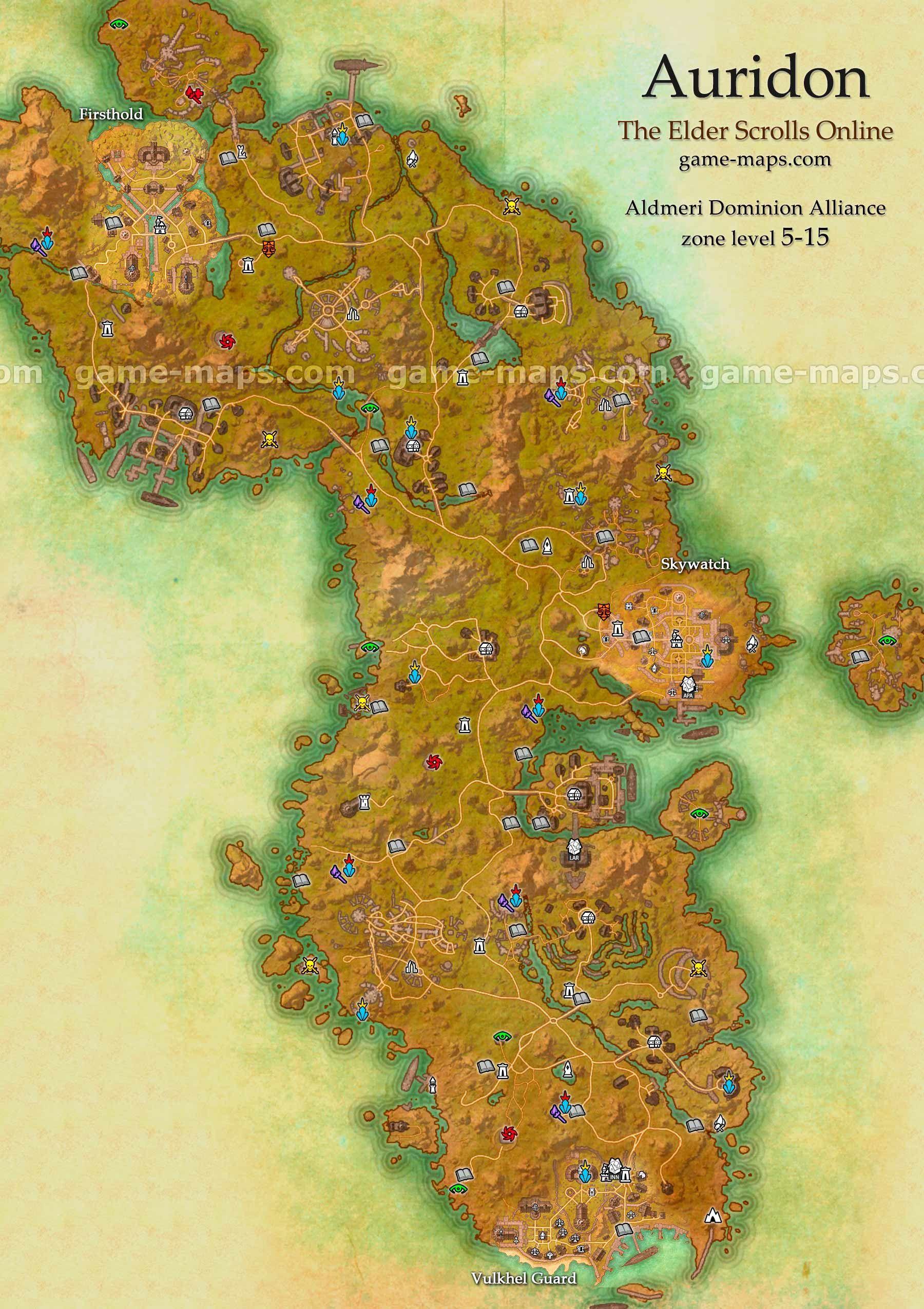 Eso Reaper's March Treasure Map 5 : reaper's, march, treasure, Elder, Scrolls, Online