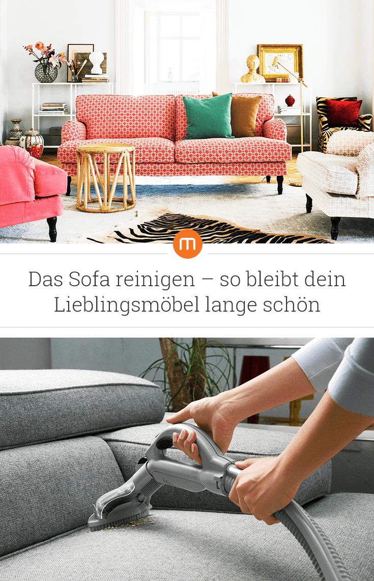 Das Sofa reinigen – so bleibt dein Lieblingsmöbel lange schön