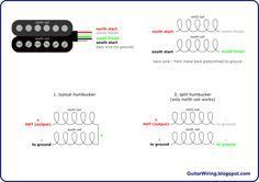 4-Conductor Humbucker The Guitar Wiring Blog - diagrams and tips: 4-Conductor  Humbucker Connections | Guitar building, Guitar pickups, ConductorsPinterest
