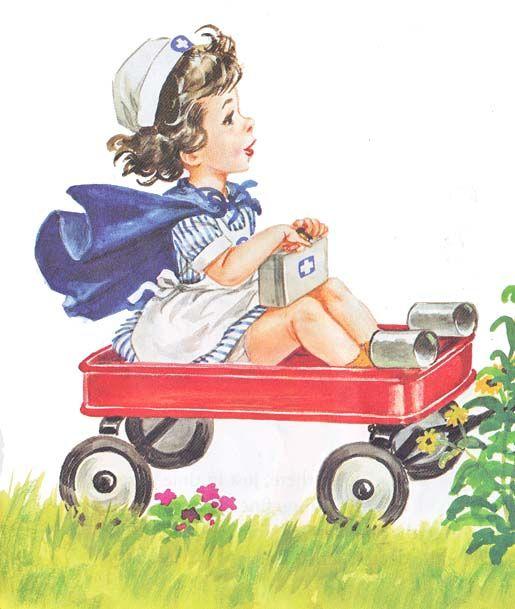 Image result for nurse nancy wagon pinterest