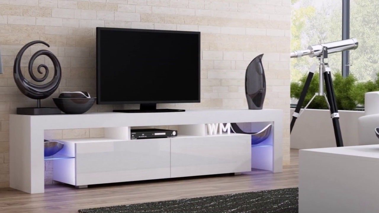 Stylish Wall Mount Tv Corner Stand Ideas 2018 I Tv Unit Design Ideas Modern Living Room Black Modern White Living Room Modern Tv Units