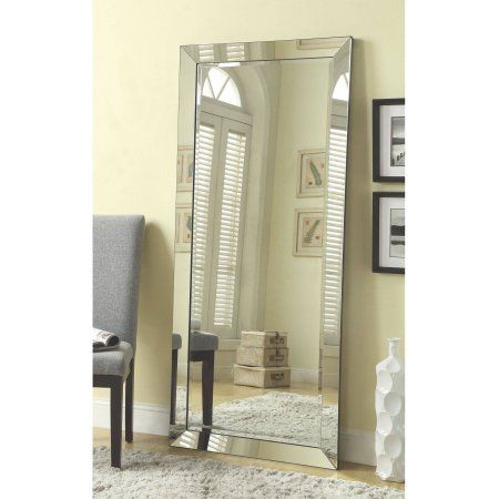 full length mirror walmart Coaster Company Silver Beveled Mirror   Walmart.| Home Sweet  full length mirror walmart