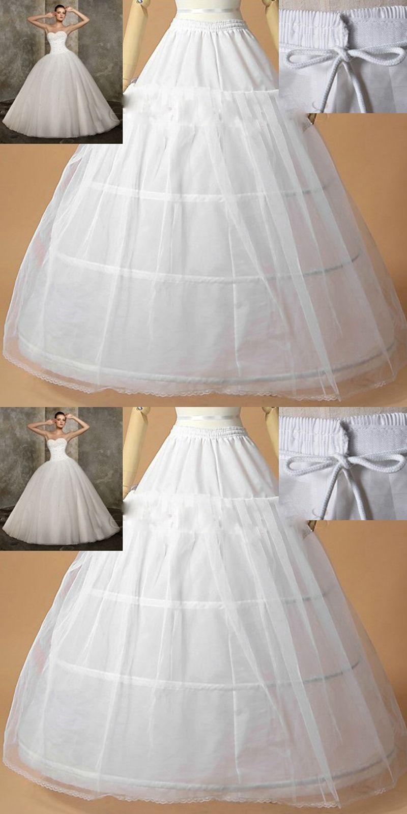Hot Sale Edge 3 Hoop Petticoat Underskirt For Ball Gown Wedding ...
