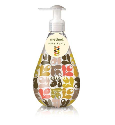 method : ORLA KIELY limited edition – gel hand wash in Vanilla Chai  Seasonal scent....stock up at target!!  Smells wonderful!
