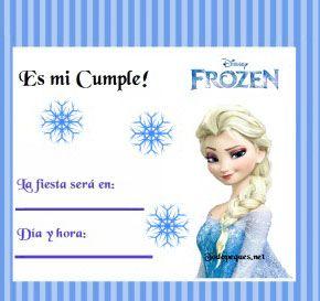 Fotos De Frozen Para Imprimir De Elsa Invitaciones