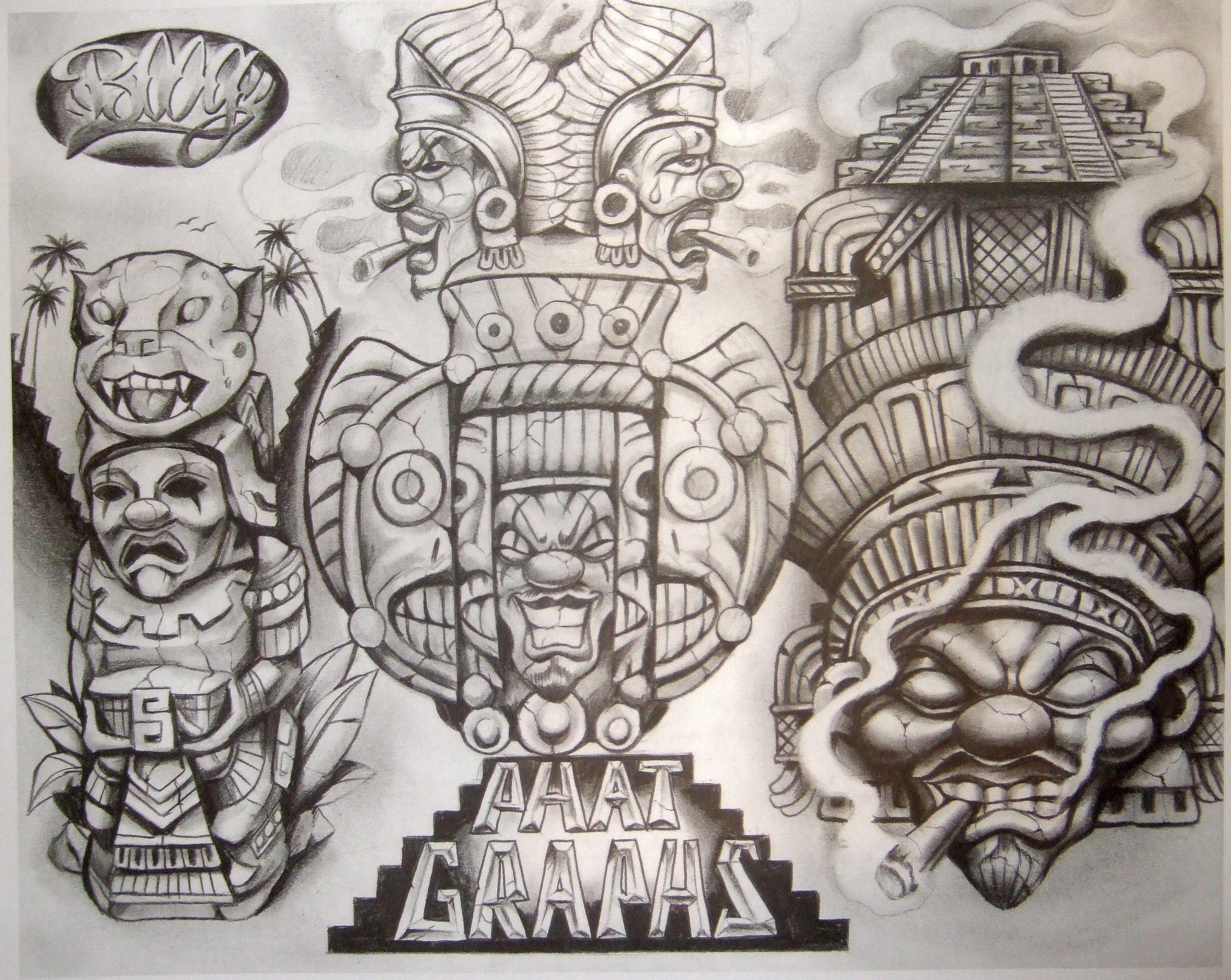 Tattoo Flash Art Black And White Guitar: Pictures Boog Flash Black And Grey Tattoos Tattoo Artists