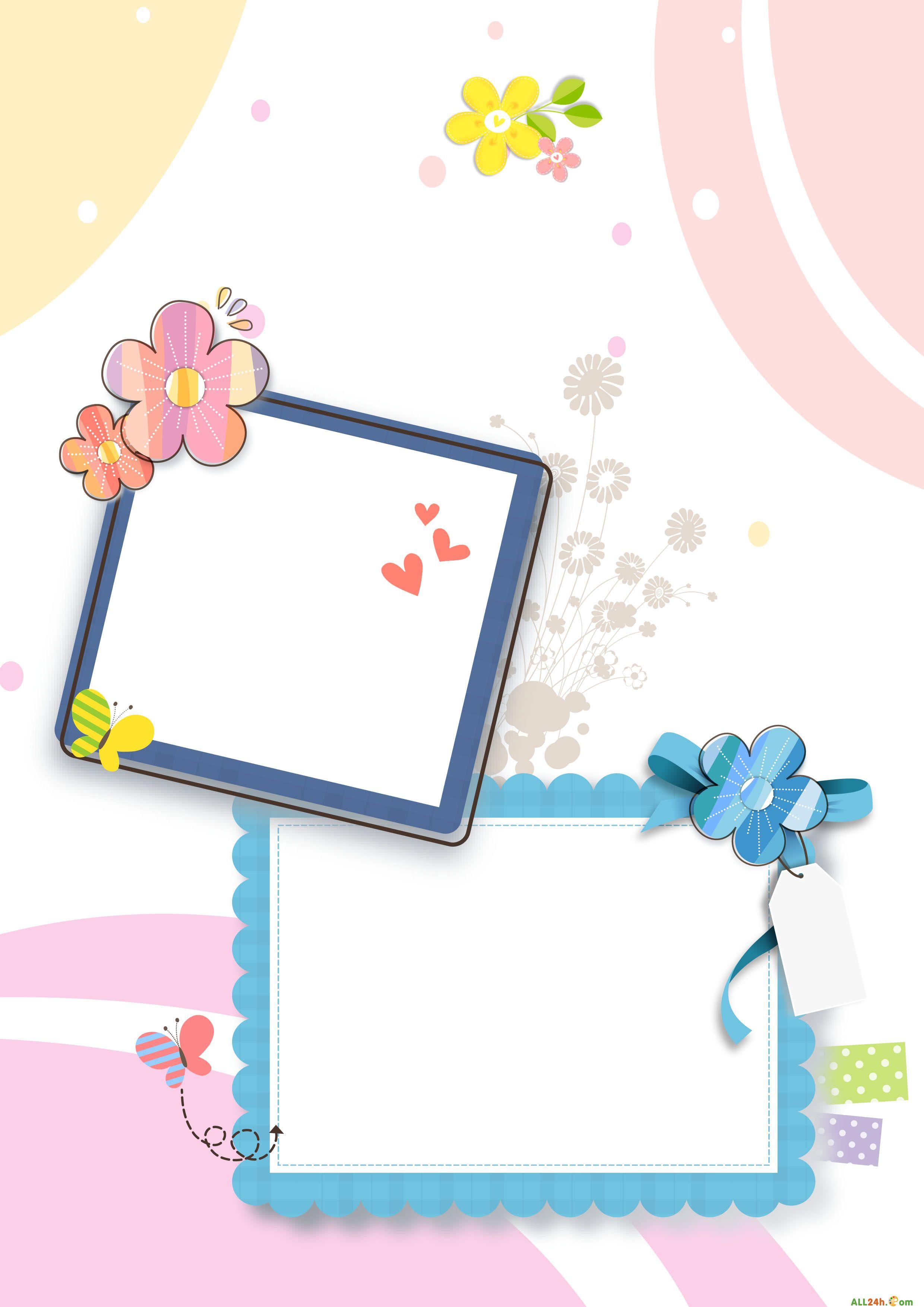 PSD - VIP - Khung nền hoa đẹp ghép ảnh khung cho bé   Diễn đàn đồ họa - Học thiết kế đồ họa   Photoshop24h