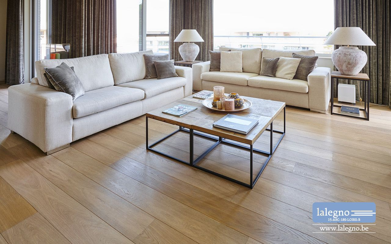 Lalegno parket plankenvloer hout eik meerlagenparket samengesteld parket wonen - Decoratie interieur bois ...