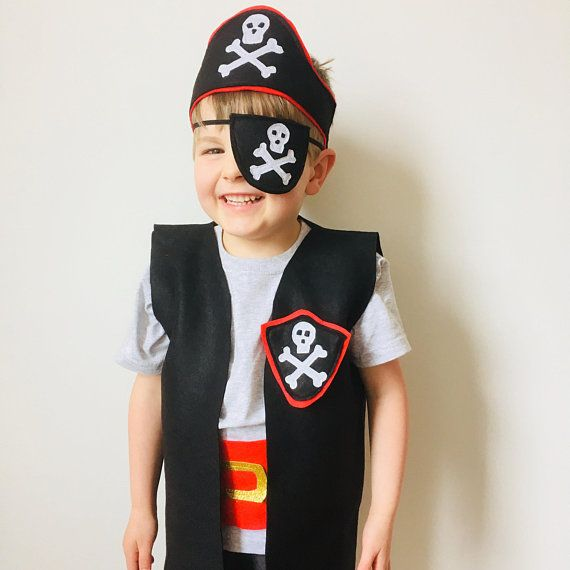 Child Pirate Costume, Sea of Thieves Outfit, Kids Pirate