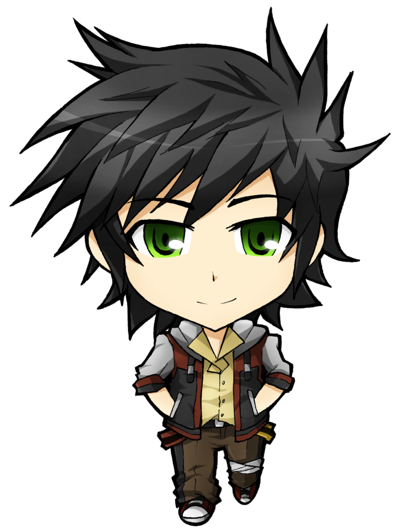Chibi Anime Boy
