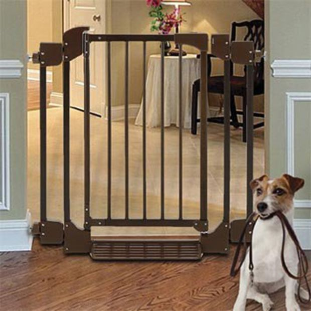 Metal Dog Gate With Door Auto Close Gate Orvis Dog Gate Pet Gate Dog Gate With Door