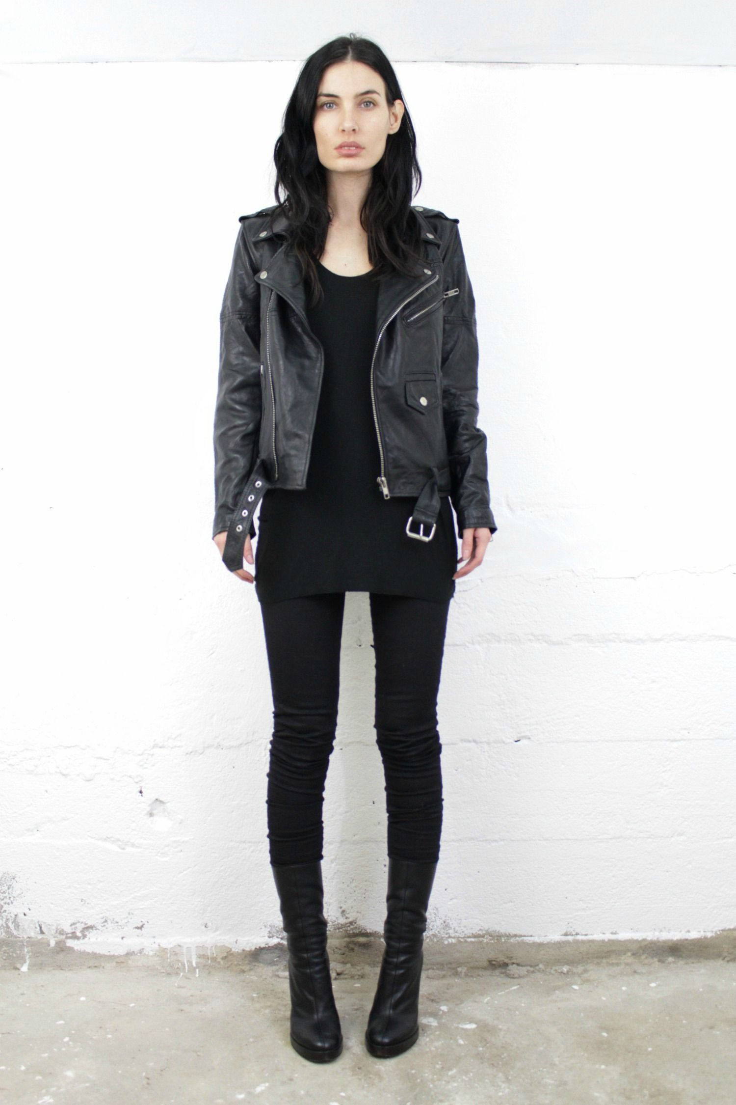 DEADWOOD RECYCLED LEATHER UNISEX JACKET | Sisters Of The Black ...
