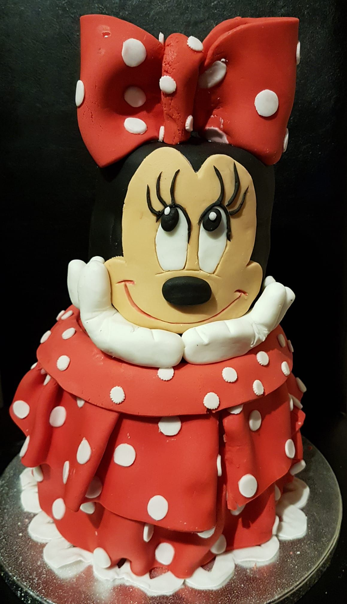 Minnie mouse birthday cake for 30th birthday ceebration Cake
