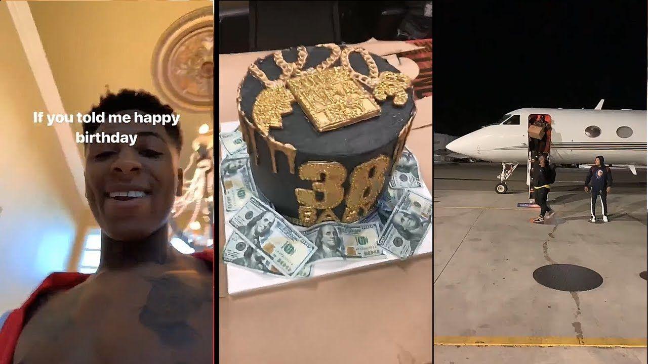 NBA Youngboy Celebrates 19th Birthday YouTube Happy