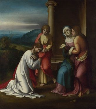 Christ Taking Leave of his Mother by Correggio