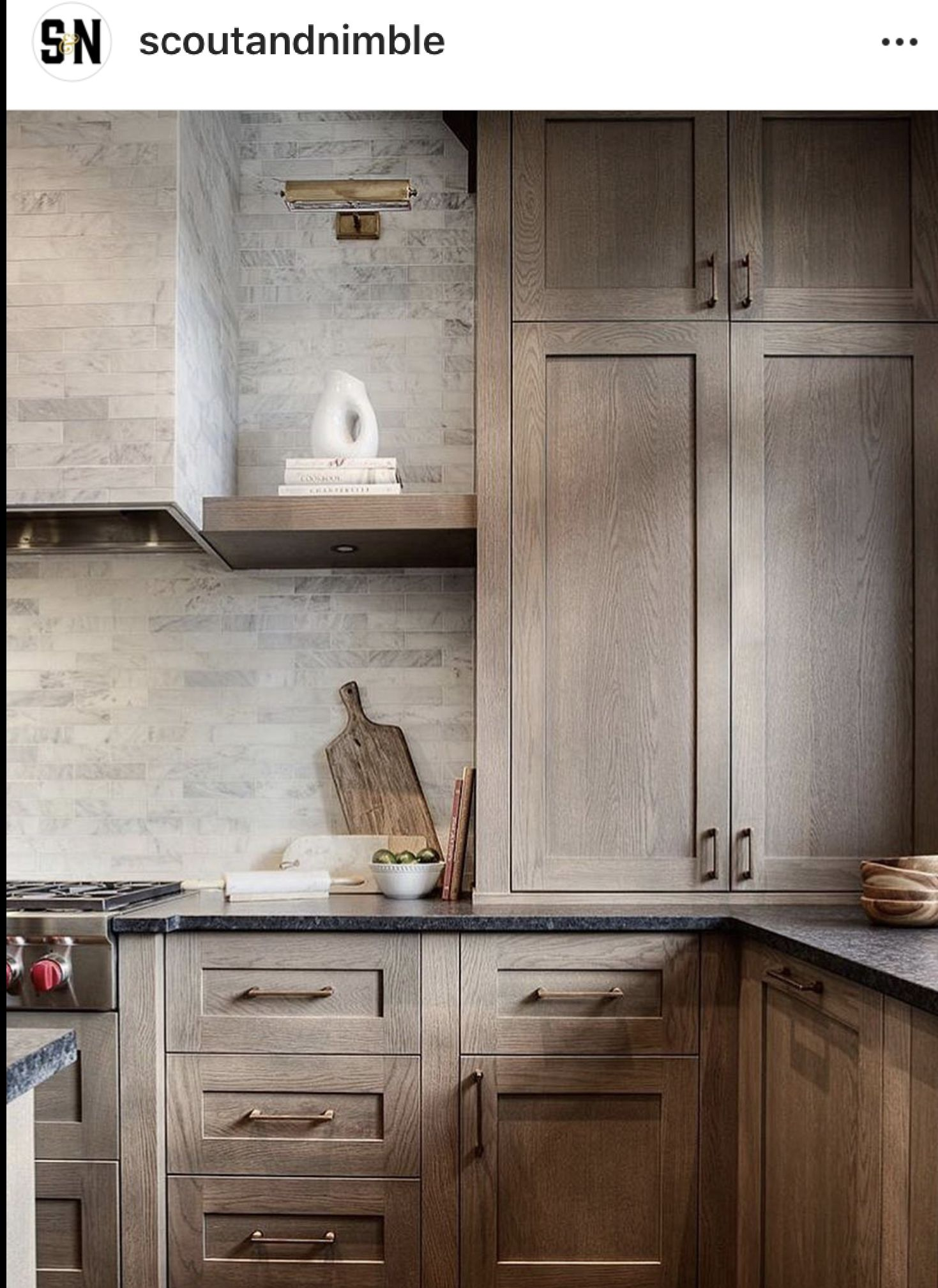 Pin By Tanman99 On Kitchens Rustic Kitchen Cabinets Black Kitchen Countertops Kitchen Cabinet Trends