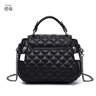 e058375e41 XIYUAN BRAND fashion luxury New sheepskin shoulder bag Leather small ...
