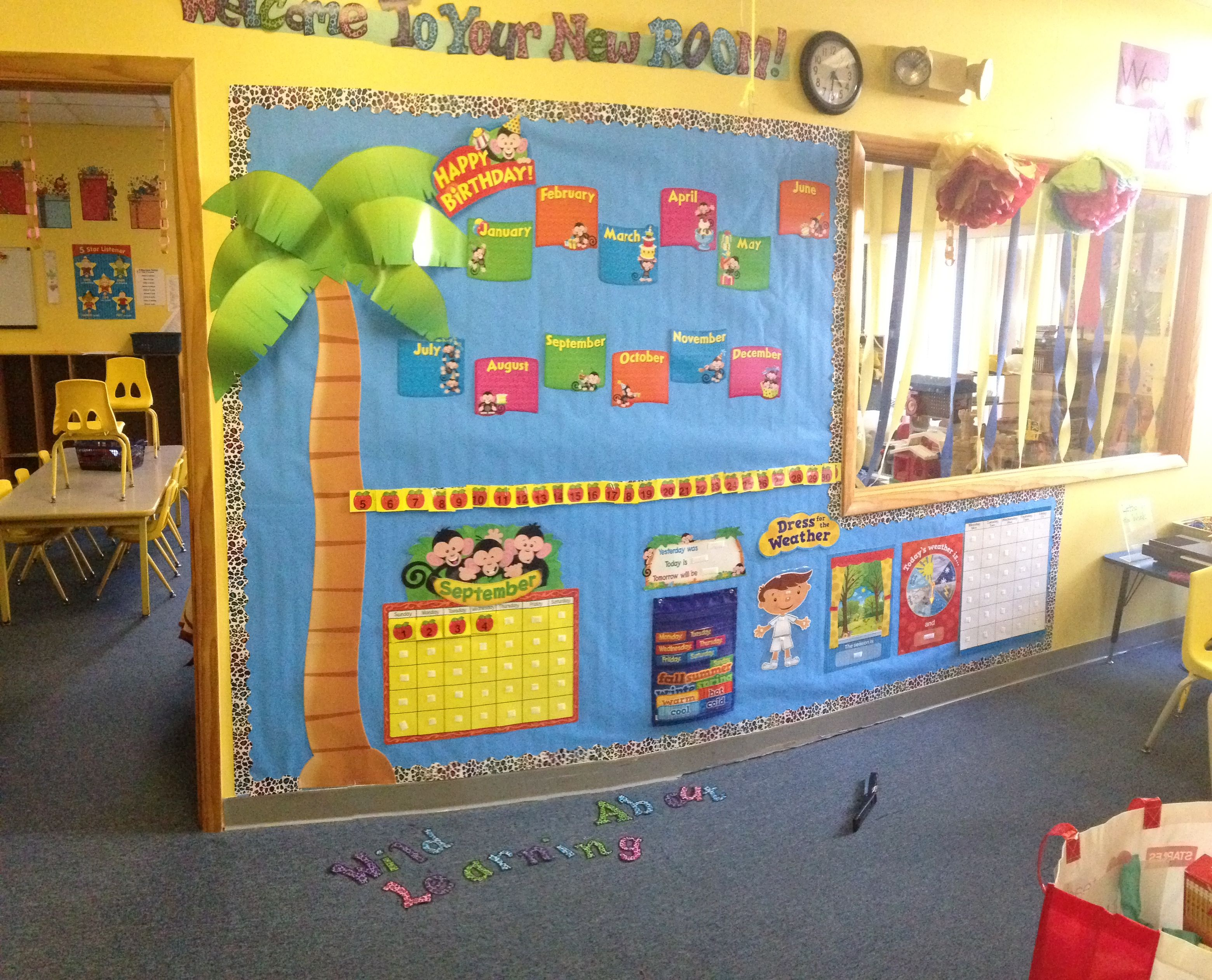 New Bulletin Board For Circle Time