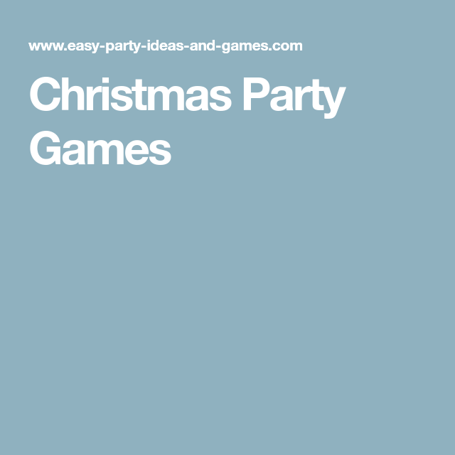 a list of fun and easy christmas party games that deliver a great party - Christmas Office Party Games