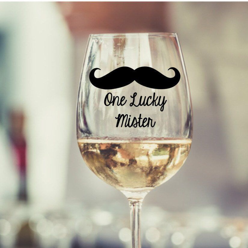 Wedding Gift Ideas For Coworker: Bachelorette Party, Wine Glass, Bride Gift, Wedding Gift