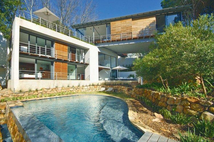 Bridge House by Van Der Merwe Miszewski Architects Villa