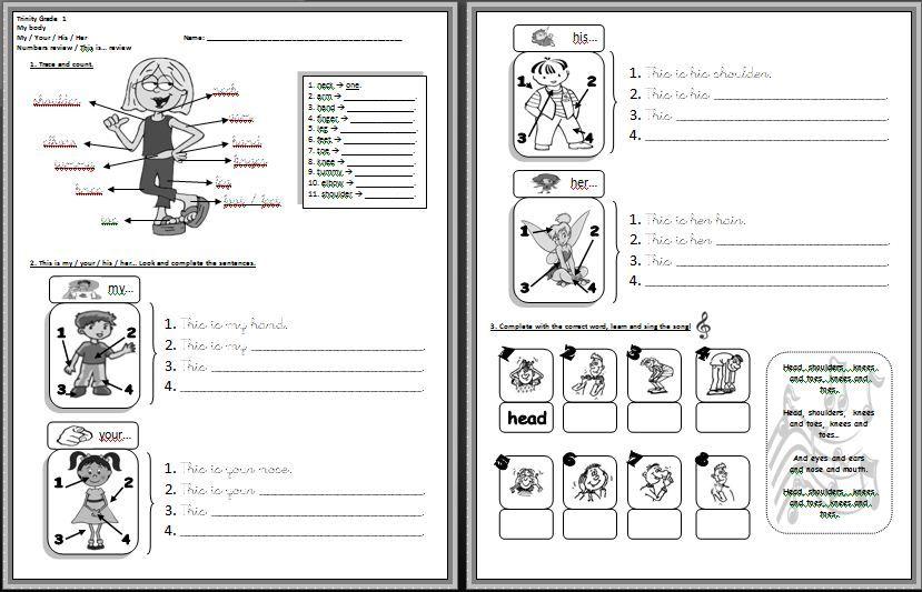 spanish possessive adjectives worksheets 2 spanish 1 pinterest worksheets spanish and. Black Bedroom Furniture Sets. Home Design Ideas