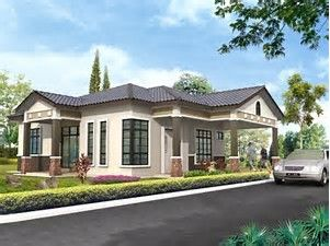 Image Result For Single Storey Bungalow House Plans Cottage House Plans Bungalow House Plans Bungalow House Design