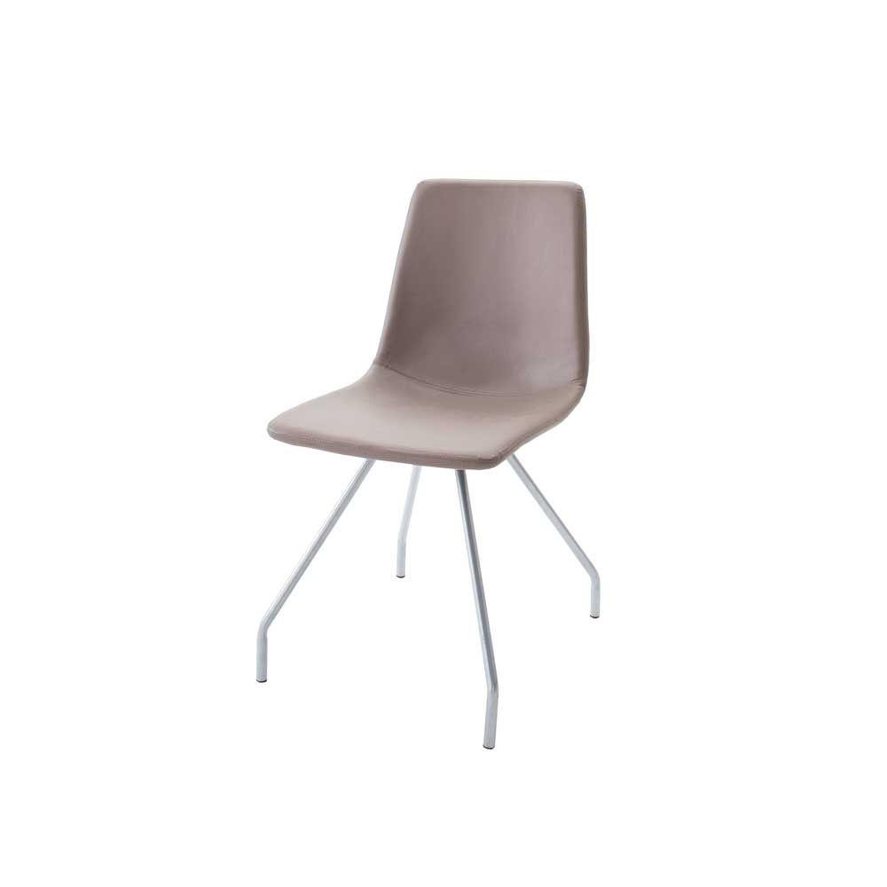 Stuhl Set In Grau Braun Kunstleder (4er Set) Jetzt Bestellen Unter: Https: