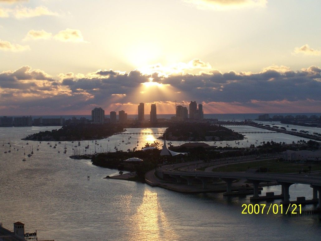 Miami, FL : Biscayne Bay photo, picture, image (Florida) at city ...