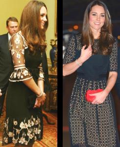 katemiddletonfashion:  Duchess of Cambridge in Temperley London