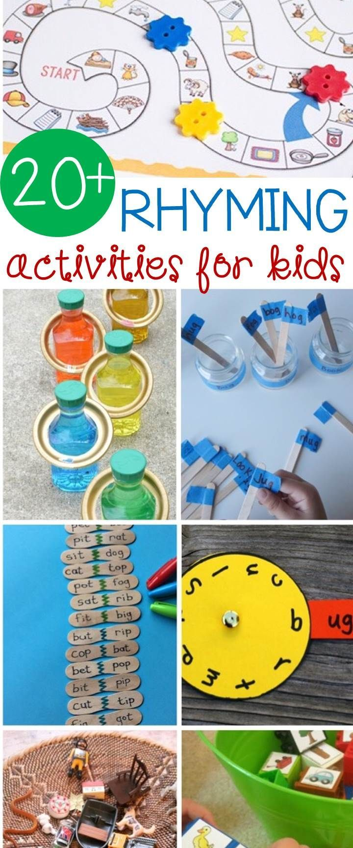 Simple, Easy and Fun Rhyming Activities for Kids | Rhyming ...