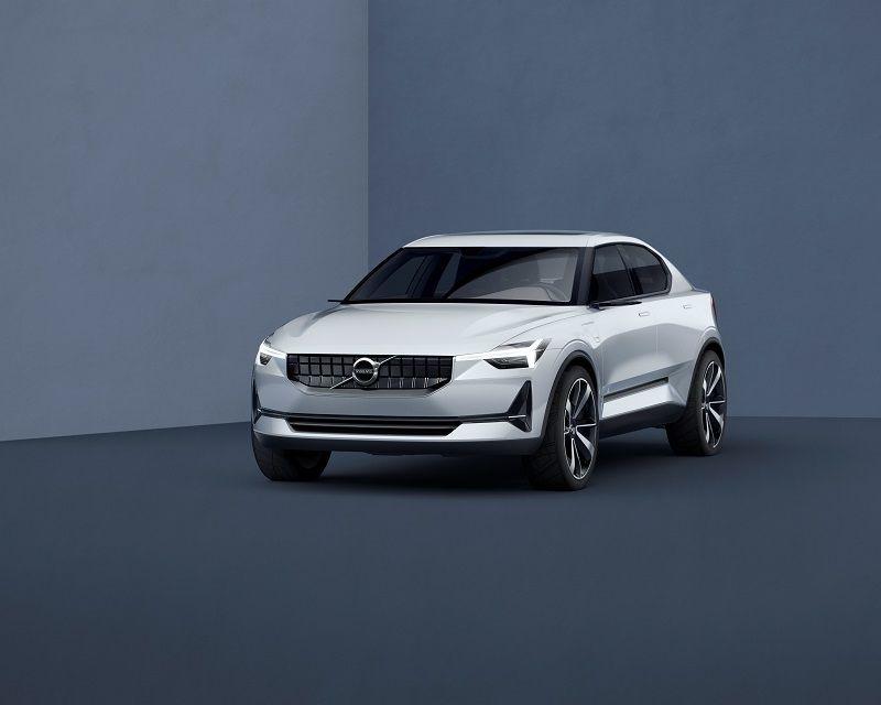 Volvo Concept 40.2 front - http://olschis-world.de/  #Volvo #Concept #V40
