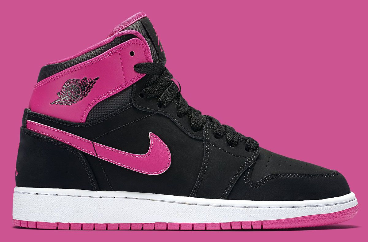 2d34196c076b87 Two new colorways of the Air Jordan 1 High featuring pink for the ladies  are now available.