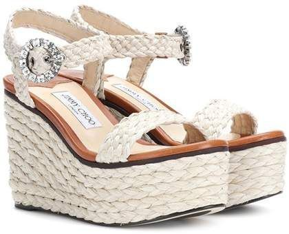 e184a50844fd Jimmy Choo Nylah wedge sandals  affiliatelink  jimmychoowedges ...