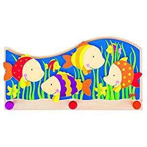 Kindergarderobe Bunte Fische Garderobe Haken Fur Ein Unterwasser Kinderzimmer Werbung