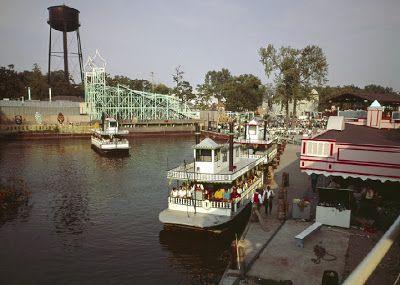 Old Paddle Wheel Boat Rides At Cedar Point In 2019 Cedar