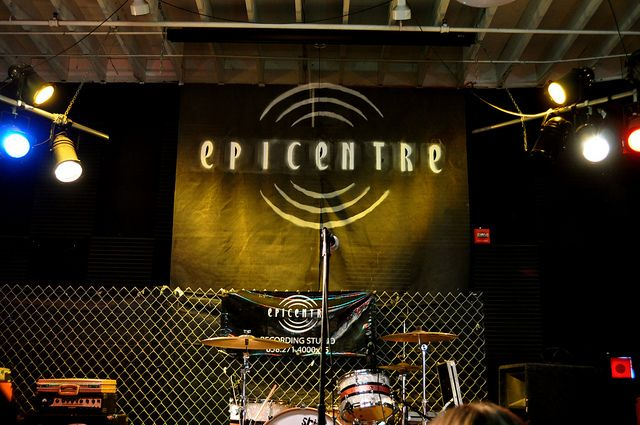 Epicentre San Diego..going here for bboy/mc battles with Pau, Jane, Jeff, etc. and metal punk rock shows, meeting up with escondido folk, where Victor performed with Danny and their band.