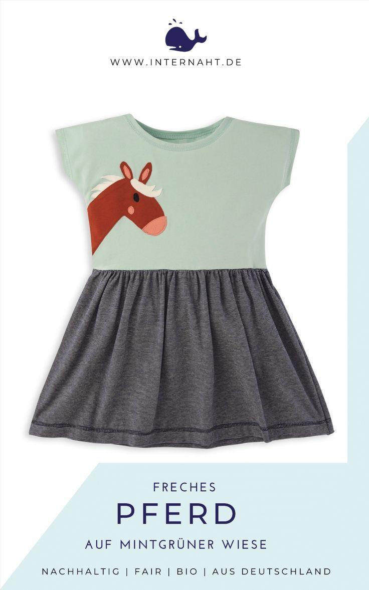 Schöne Kleider & Röcke aus Bio Baumwolle für Mädchen in ...