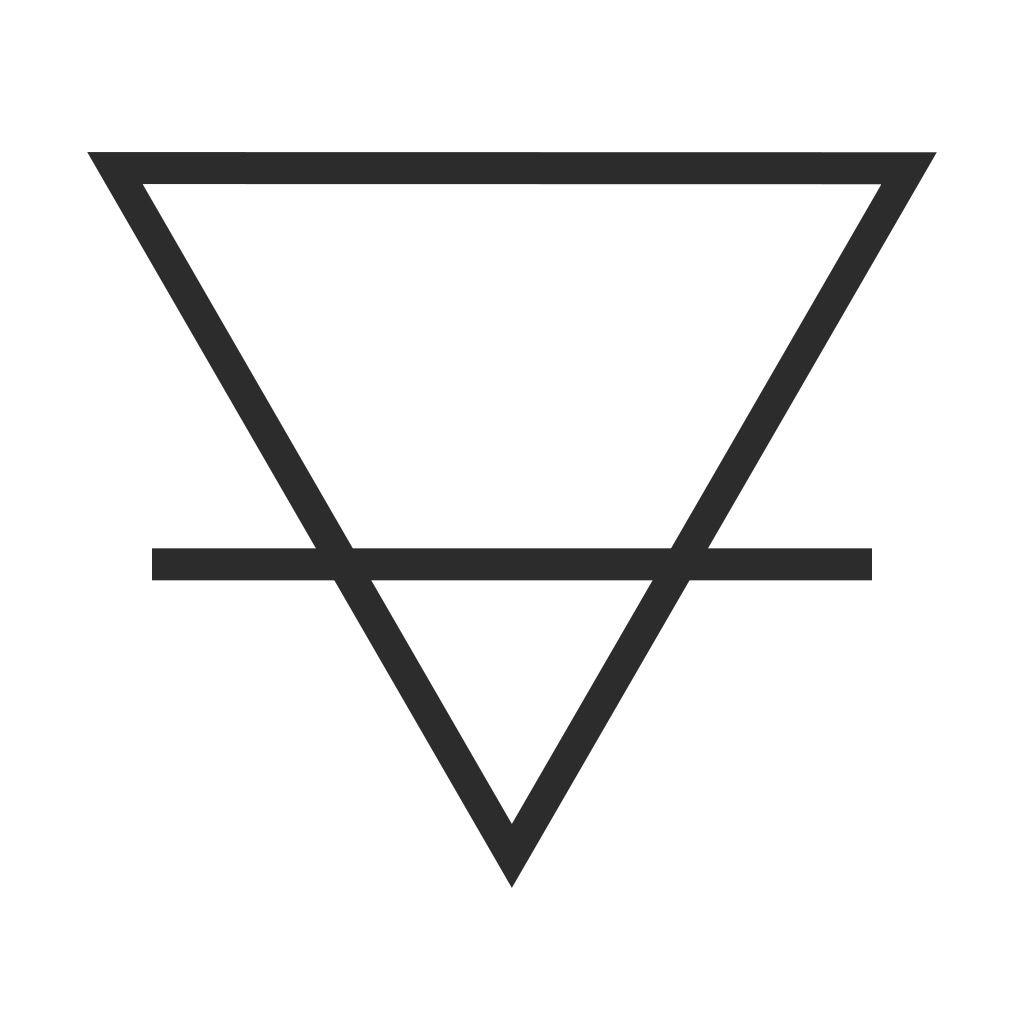 Alchemy Symbol For Earth Tattoo Ideas Pinterest Symbolic