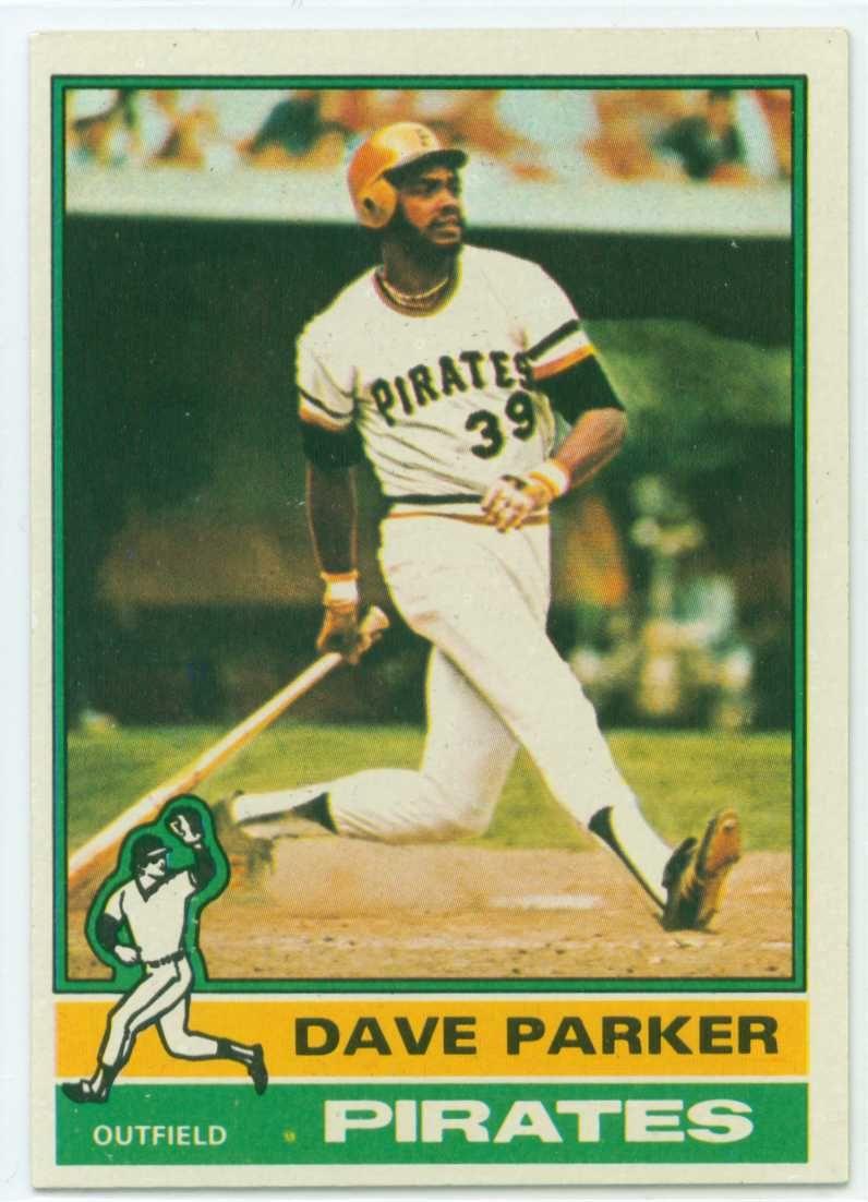 bde26da09d3 Dave Parker 1979 World Series | Dave Parker 1976 Topps Baseball Card ...