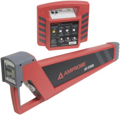 Amprobe At 3500 Underground Cable Locator Automatic Gain Control Cable Commercial Electrician