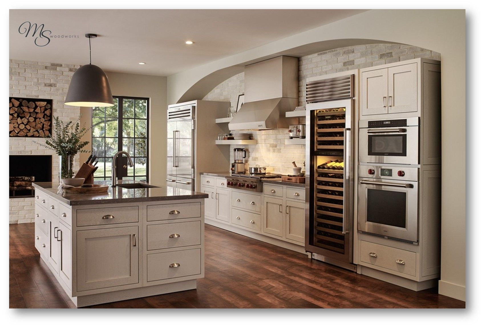 Are you in need of a kitchen makeover? Call MS Woodworks TODAY: (706) 975-9434
