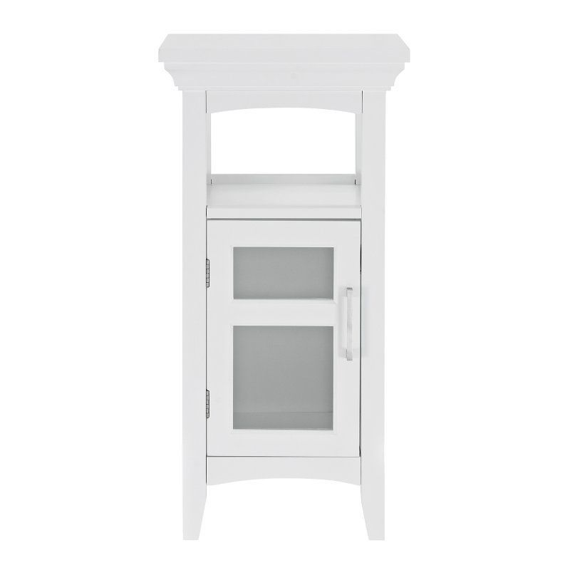 Simpli Home Avington Bathroom Floor Cabinet - AXCBC-003-WH