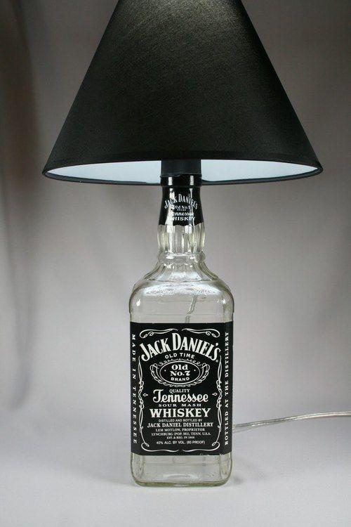 Riciclare Bottiglie Di Jack Daniels E Creare Un Oggetto