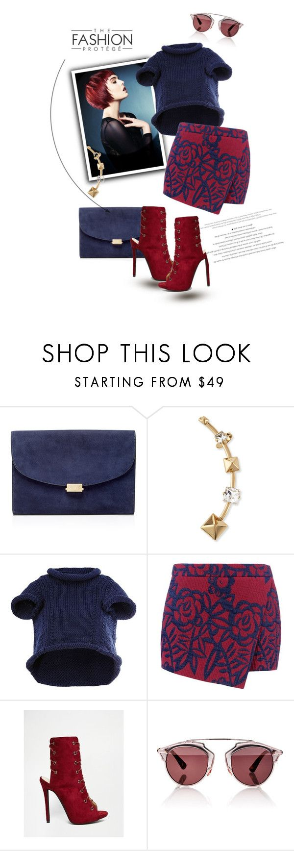 """""""God owns heaven but He craves the earth"""" by liquidvisions ❤ liked on Polyvore featuring Mansur Gavriel, Valentino, Maison Margiela, Barbara Bui, Public Desire, Christian Dior and vintage"""